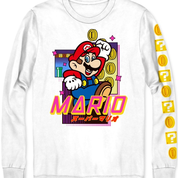 Hybrid & company Other - Super Mario Coin Blocks Men's Graphic T-Shirt